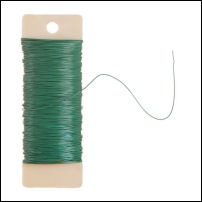 Floral Paddle Wire - 22 gauge - 38 yards