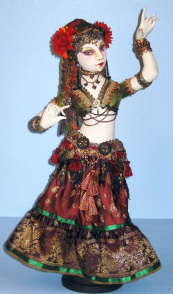 Tribal style Belly Dancer/Gypsy Costume