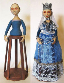 Isabella, Santos Cage Doll by Arley Berryhill  PDF Download E-Pattern
