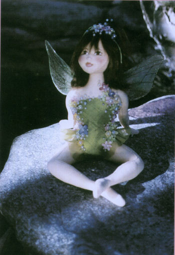 Dawn, Fairy Pattern by Arlene Cano - Cloth Doll Making Sewing Pattern