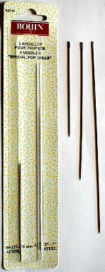 Assorted Doll Needles