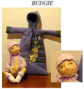 Cloth - Soft Baby Doll - Made of Cloth - Sewing Pattern Available.
