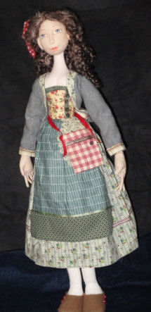 Belle of Provence Cloth Doll Sewing Pattern - New