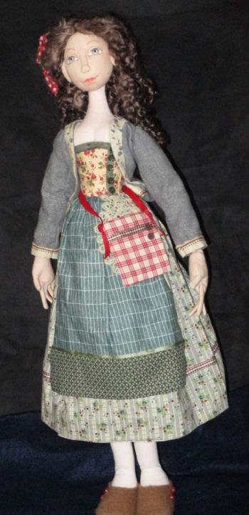 Belle of Provence Cloth Doll Sewing Pattern