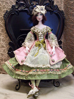 "Chelsea enchanting 20"" beauty cloth doll by Barbara Willis - Sewing Patterns and Instructions"