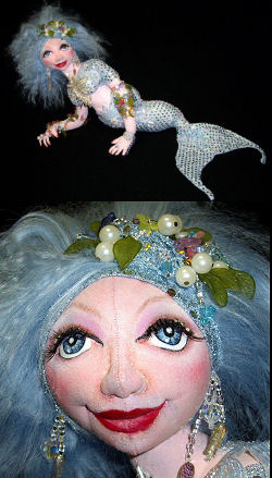 Crystal, Mermaid of the Lake CD - Doll Making Instructions and Pattern
