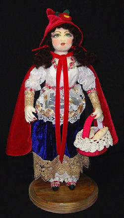 Little Red Riding Hood CD, Cloth Doll Pattern, Doll Making Instructions