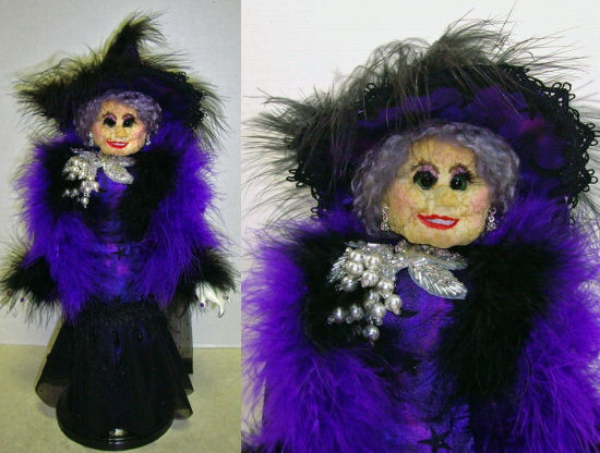 Serena, Apple Head Witch Doll, Doll Making CD