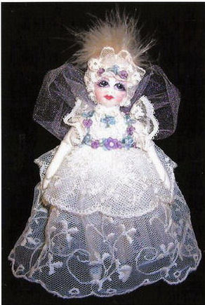 Little Victoria, the dream fairy. Doll Making Pattern