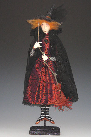 Wilda, the Web Designer Cloth Doll Making Pattern - Art Doll Making