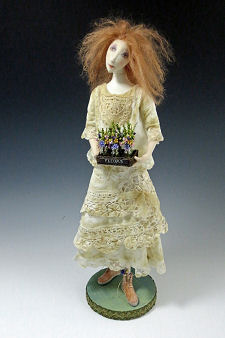 "Wildflower, 18"" Cloth Art Doll Sewing Tutorial"