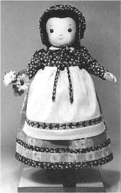 BRIDGIT by Colette Wolff - Sewing Doll Pattern - Cloth and Vintage