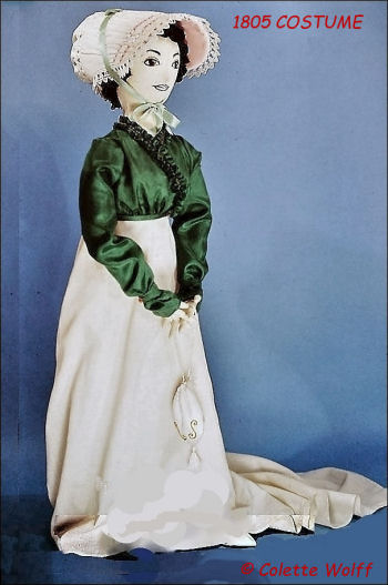 VERONICA 1805 COSTUME - Sewing Pattern for Vintage Costume