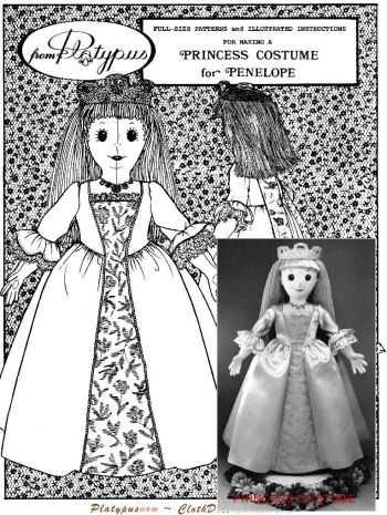 VERONICA 1775 COSTUME - Sewing Pattern for Vintage Costume
