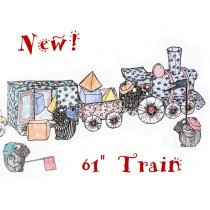 Cloth Train by Colette Wolff - Sewing Pattern!