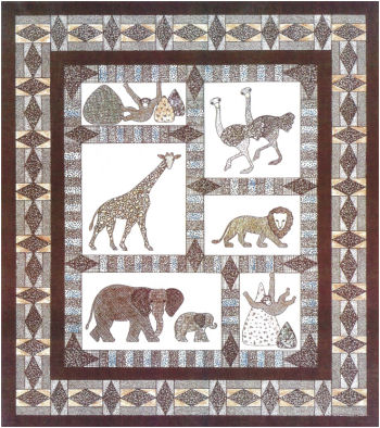 Serengeti Quilts - Quilting Pattern by Colette Wolff