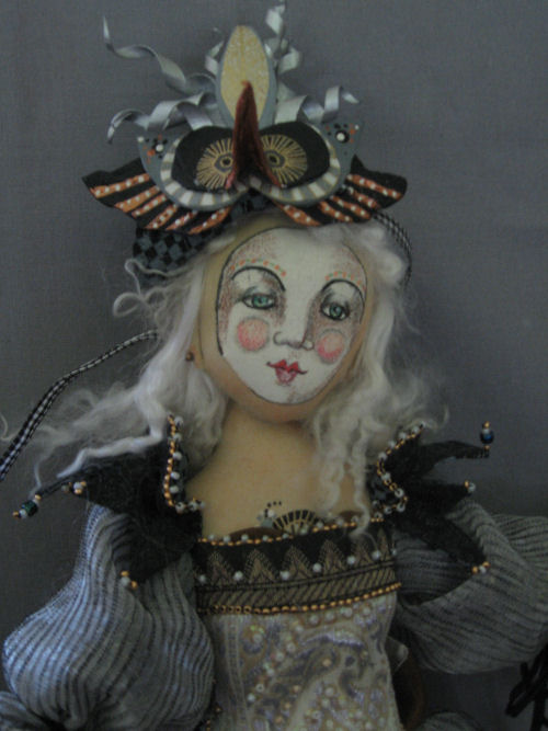 "*NEW* CLOTH ART DOLL PATTERN /""ELIZABETH I/"" BY CHRISTINE SHIVELY PAPER"