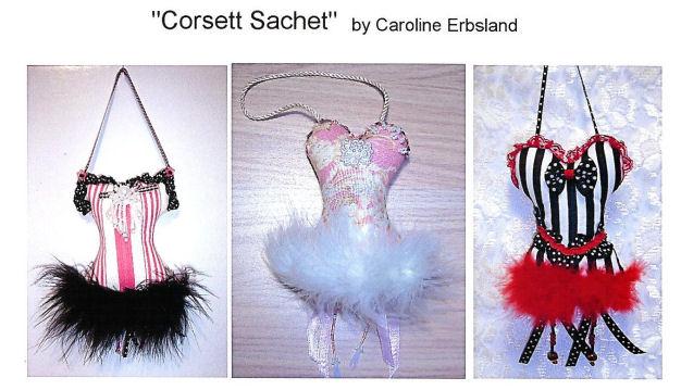 Free Project...  Corsett Sachet