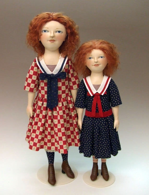 Verity Cloth Doll Pattern - Sewing Instructions for a Fabric Doll