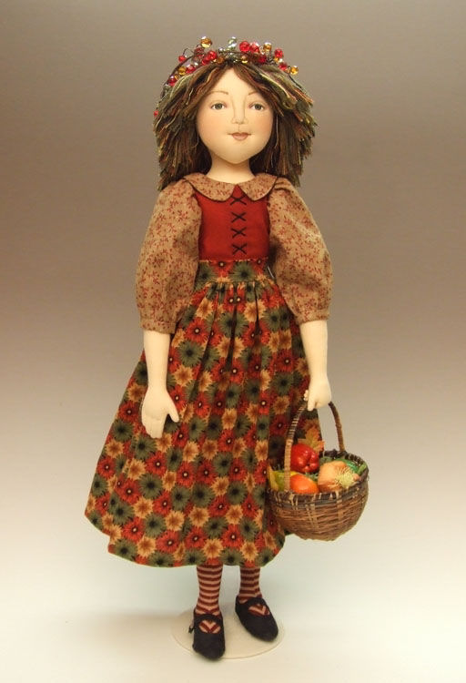 Under the Harvest Moon Cloth Doll Sewing Pattern