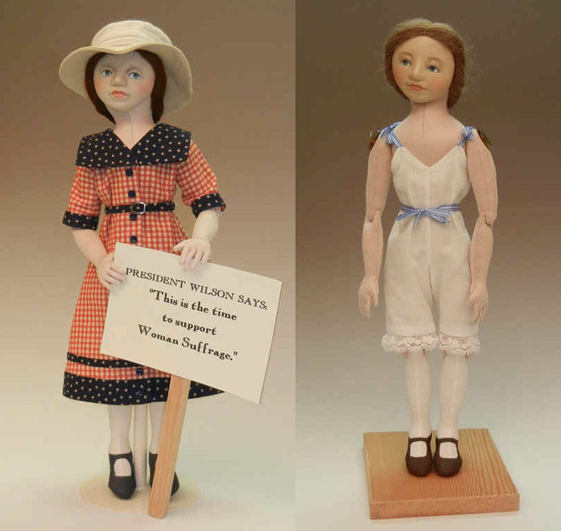 Suffragette Sally Body and Pressmold