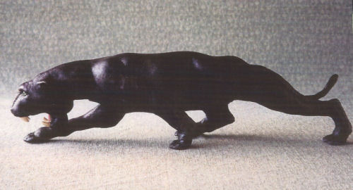 Panther Cloth Animal Doll Sewing Pattern - Doll Making Instructions
