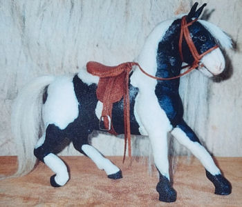 Prancing Horse -  Cloth Doll Animal Sewing Pattern
