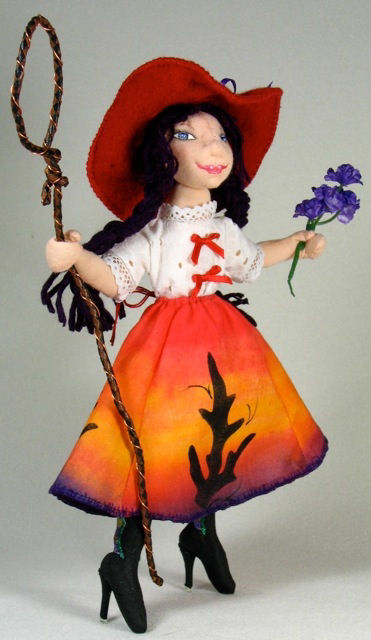 "*NEW* CLOTH ART DOLL PATTERN /""IT TAKES TWO/"" BY NORMA INKSTER PAPER"