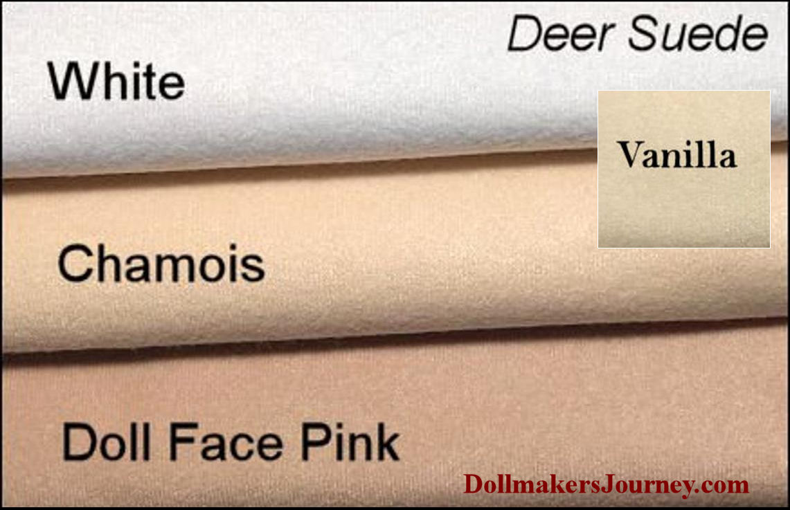 Deer Suede - Doll Making Fabric - Doll skin