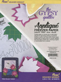 Freezer Paper Sheets For printing and doll making and other crafts