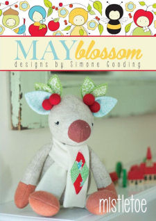 Mistletoe Cloth Doll Patterns