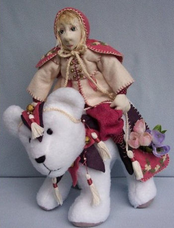 Twinkles & Jingles the Bear - Sewing Cloth Doll Pattern