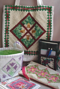 Tatted Mini Quilt Patterns! - Spring