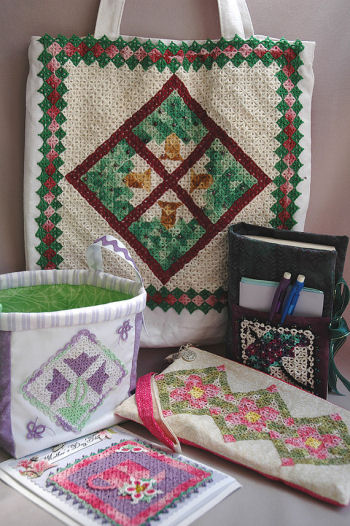 A Season of Mini Quilts - Spring - Tatting Quilt Pattern