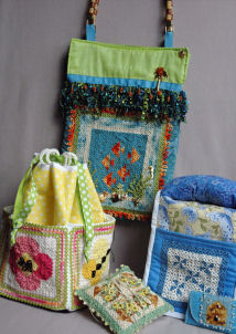 Tatted Mini Quilt Patterns! - Summer