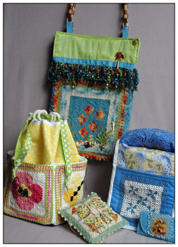 A Season of Mini Quilts - Summer - Tatted Quilt Patterns