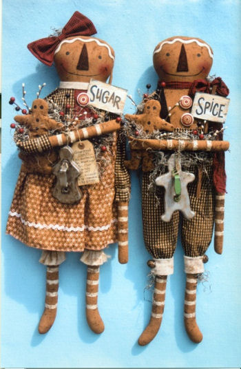 Everything Nice Gingerbread Boy & Girl