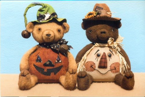 Belly Bears for Fall Cloth Doll Patterns
