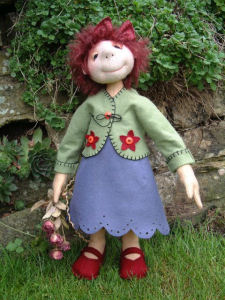 Sunday Best Cloth Doll Pattern by Janet Clark