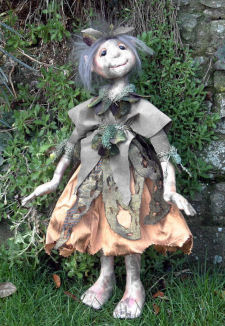 Freya Cloth Doll Pattern by Janet Clark