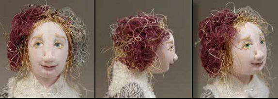 Course: Making Needle Sculpting Decisions - Putting it together -Online Course/Class Finished Face