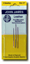 John James Assorted Leather Needles