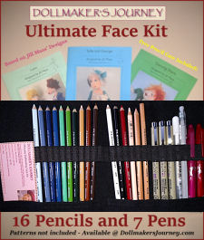 Dollmaking Face Kits