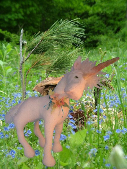 Razielle - unicorn or horse sewing doll animal pattern.