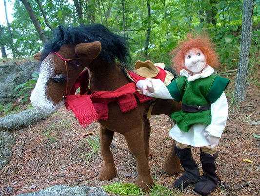 Mortimer & Lady - Horse and Doll Sewing Doll Making Pattern