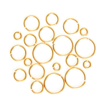 Jump Rings - Gold and Silver