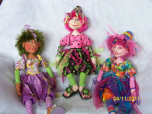Dollmaking Pattern for Cloth Dolls