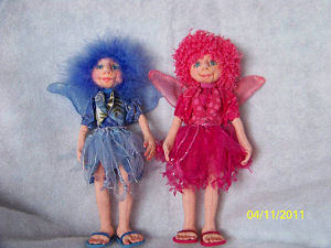 Fairy Cloth Doll Making Sewing Pattern