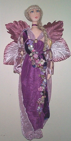 Embellished Angel CLoth Doll Pattern