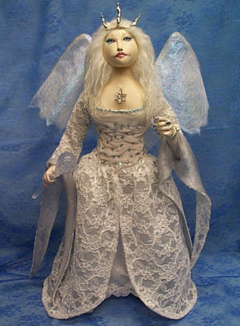 Winter Solstice Fairy  CLoth Doll Pattern